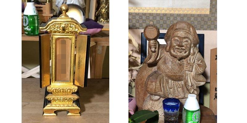 位牌、仏像供養処分