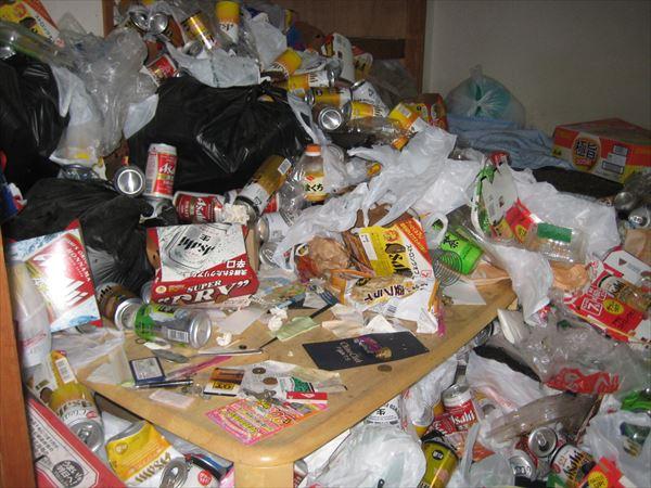 久留米市|ゴミ屋敷の片付け(兄妹で貯金)
