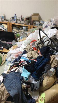 長崎市 ゴミ屋敷のお片付け(心機一転したいです)